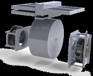роторный рекуператор вент установки IQvent