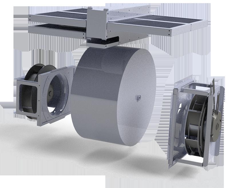 рекуператор вентиляционной установки IQvent