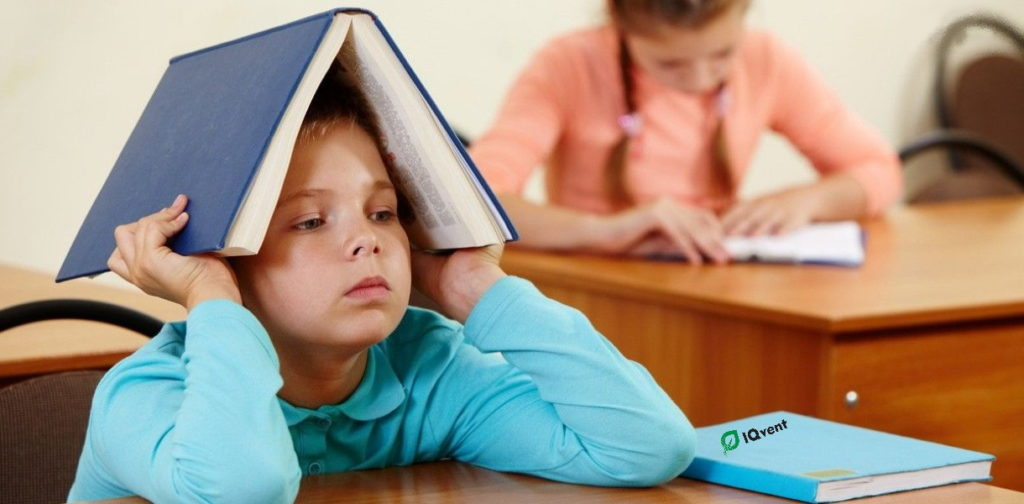 Погана успішність у школі через погану вентиляцію шкіл